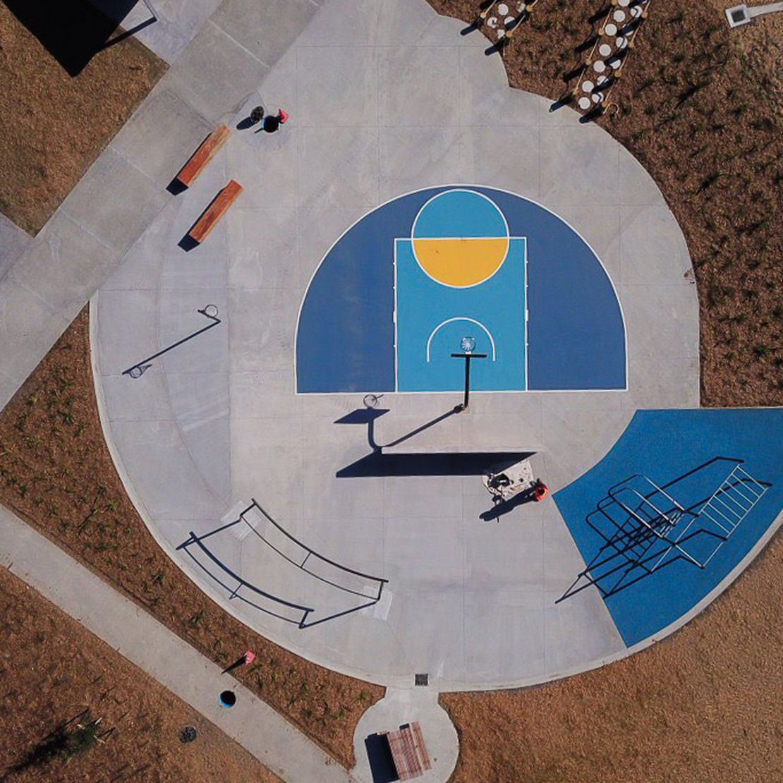 Bonair Basketball D Court