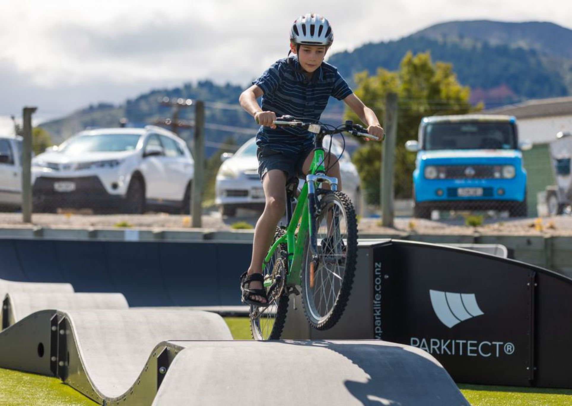 Boomerange Pumptrack Lake Taupo Holiday Park