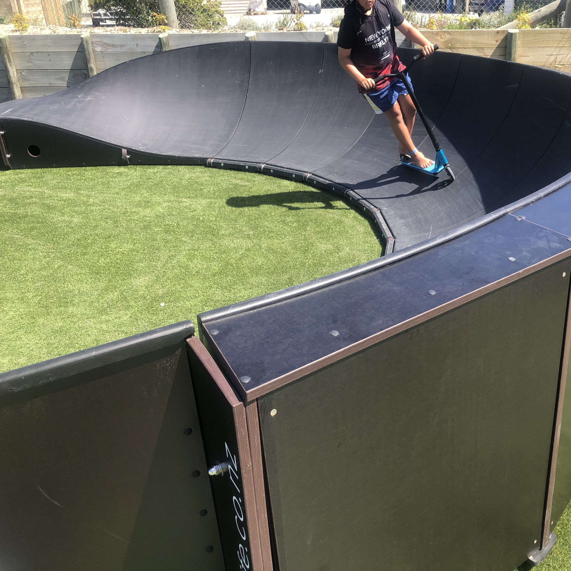Boomerang Modular Pumptrack Lake Taupo