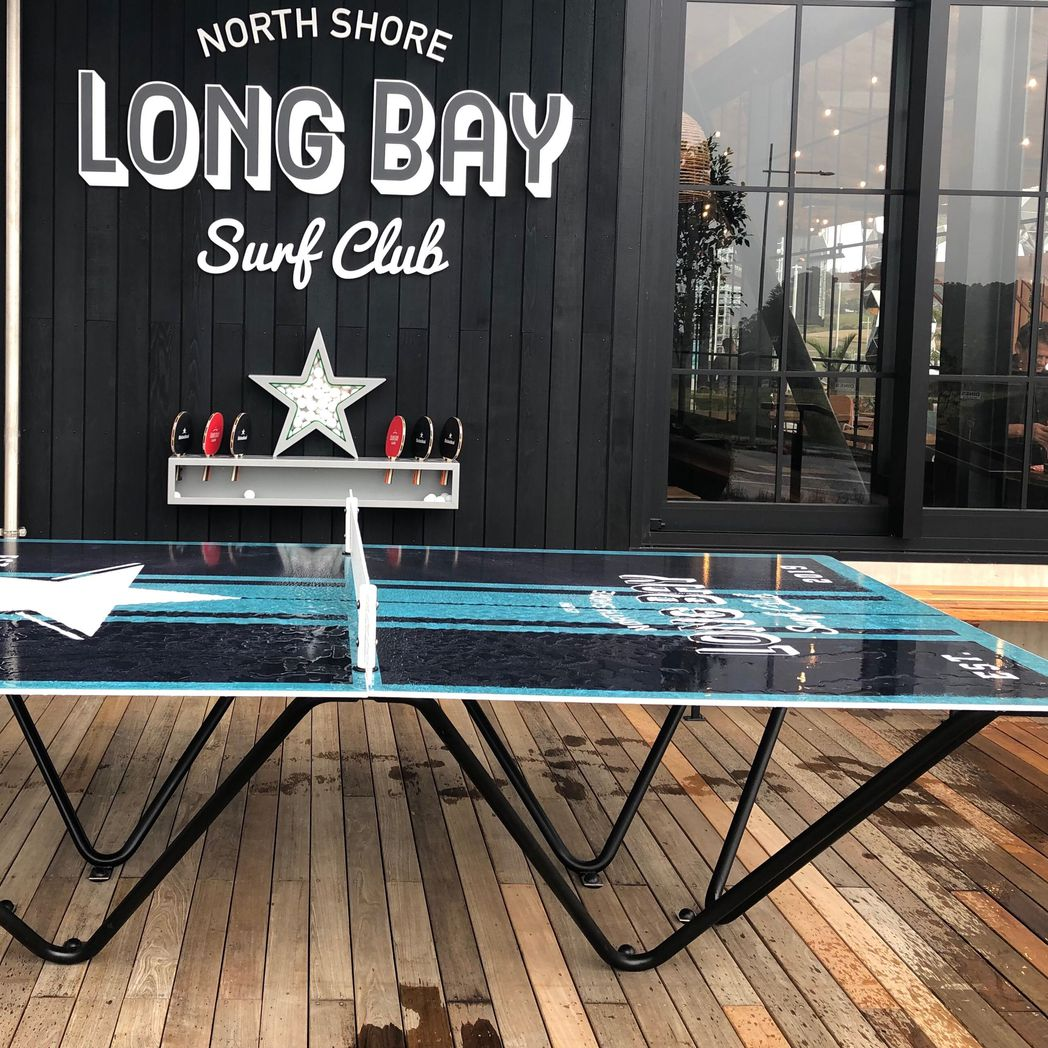 Ping Pong Table Long Bay Surf Club